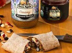Crunchy Almond Apple Wrap