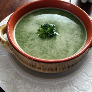 Powerful Greens soup