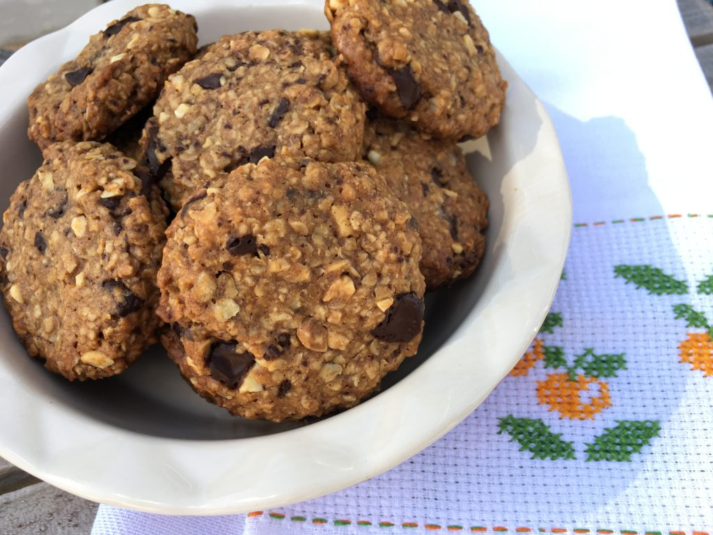 Tahini Oats Cookies