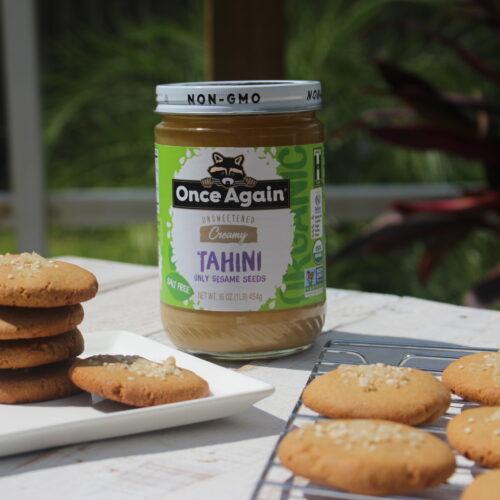 Ginger Tahini Cookies